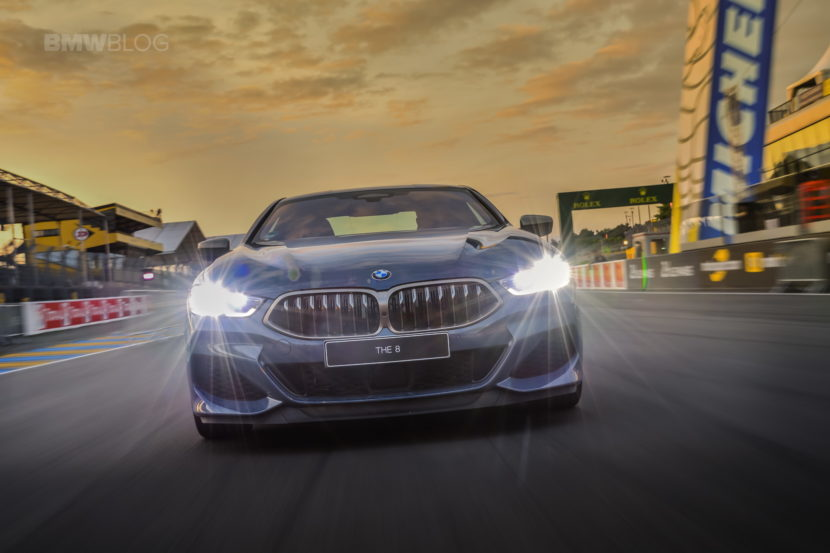 BMW 8 Series track Le mans 2018 12 830x553