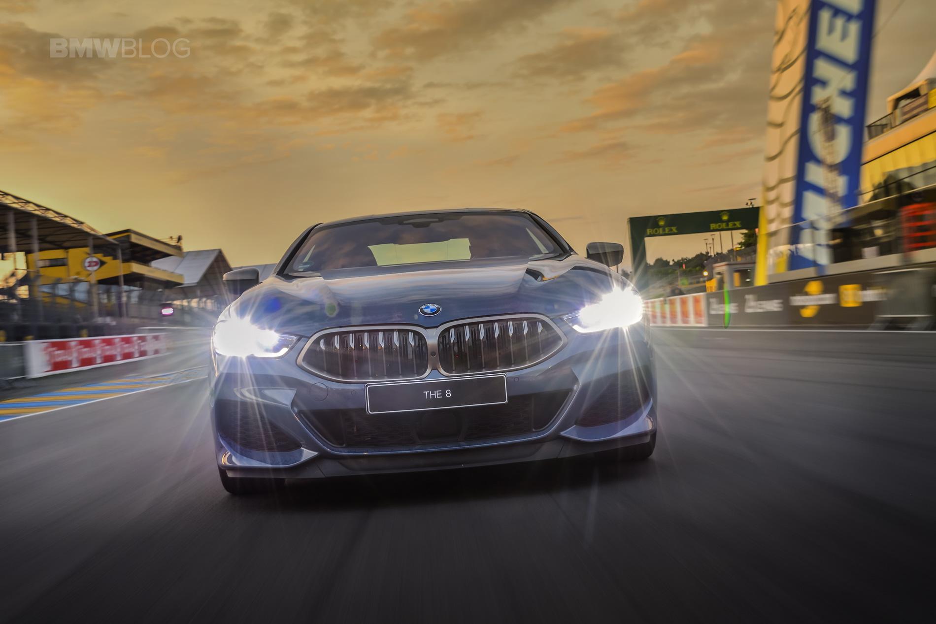BMW 8 Series track Le mans 2018 12