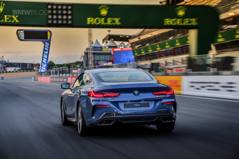 BMW 8 Series track Le mans 2018 18 830x553