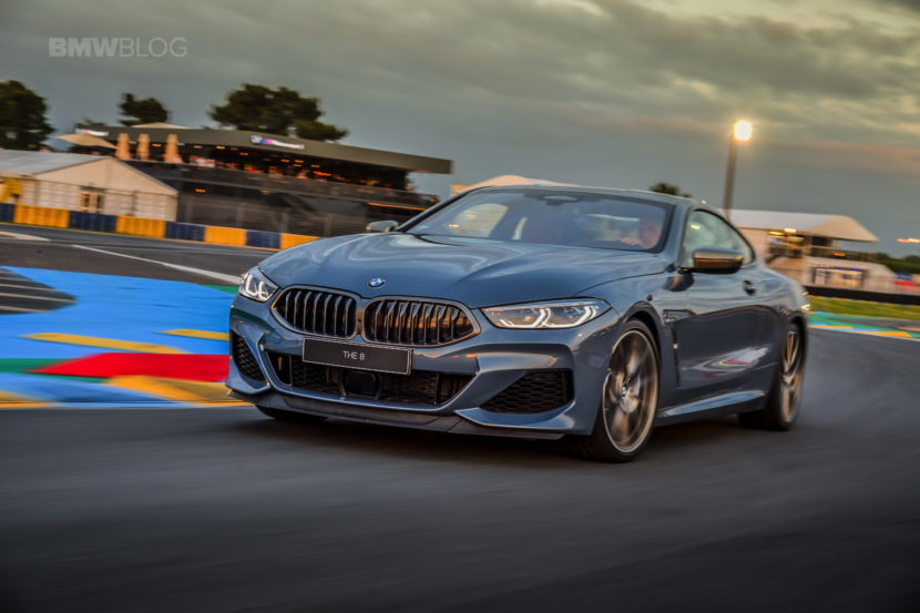 BMW 8 Series track Le mans 2018 26 830x553