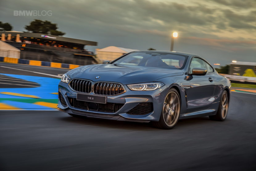 BMW 8 Series track Le mans 2018 27 830x553