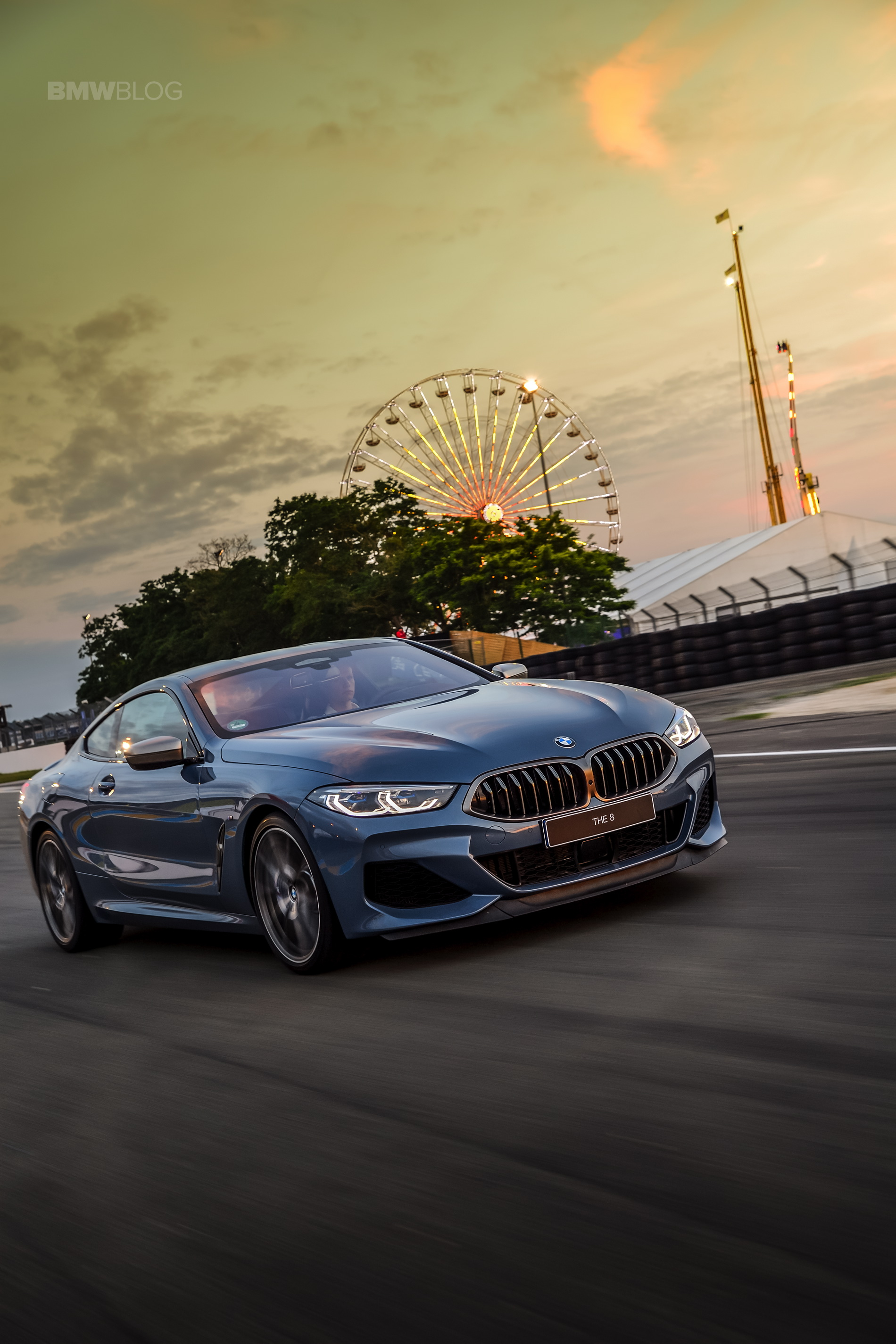 BMW 8 Series track Le mans 2018 29