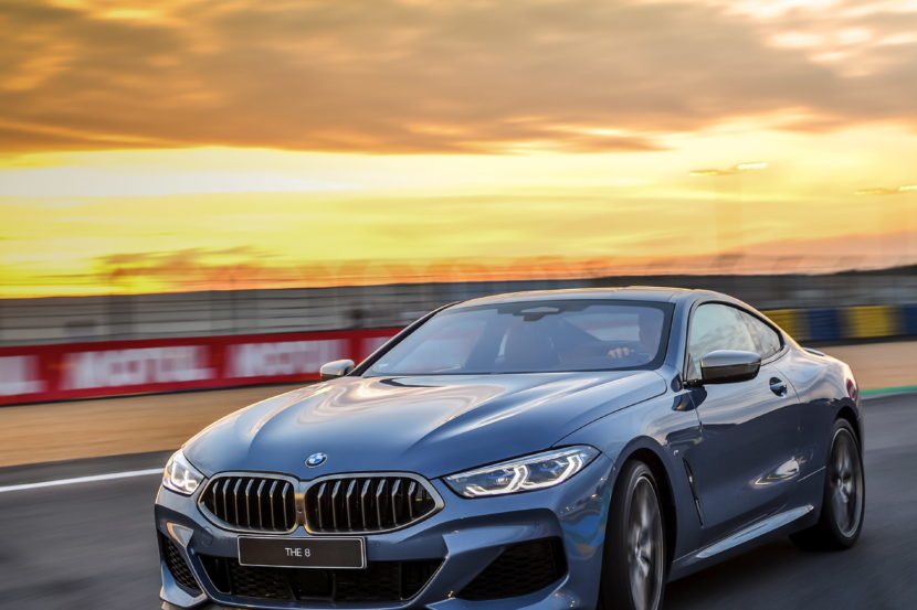 BMW 8 Series track Le mans 2018 30 830x553