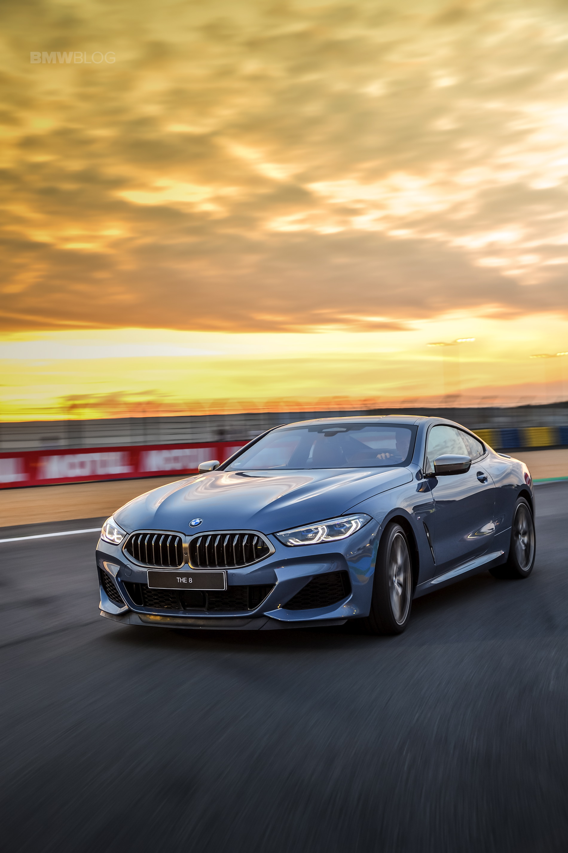 BMW 8 Series track Le mans 2018 30