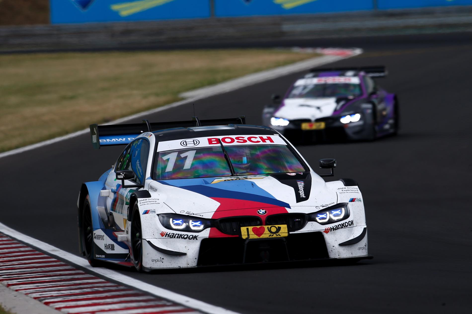 BMW DTM 2018 Hungaroring Sunday 01