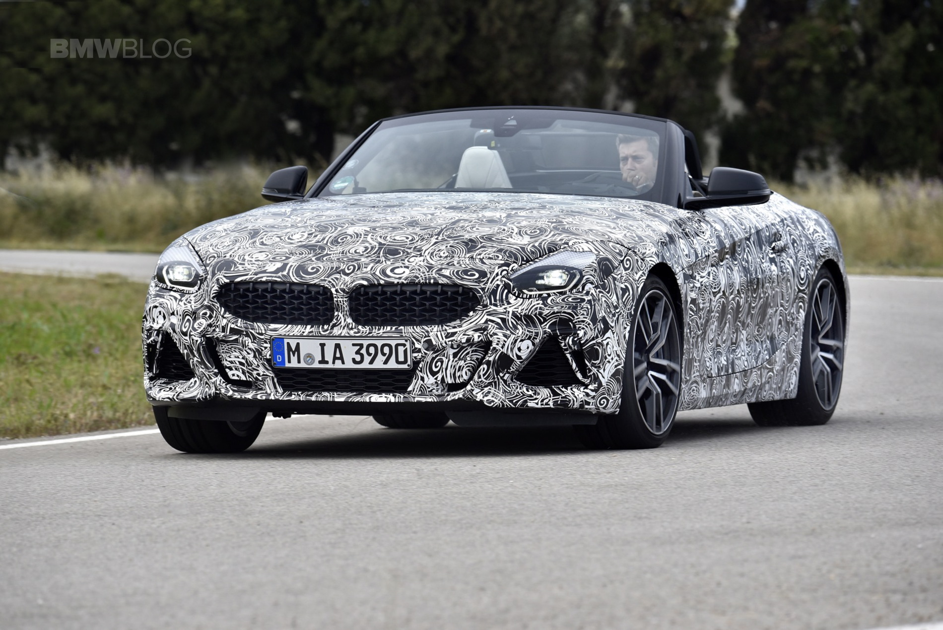First Drive New Bmw G29 Z4 M40i In Pre Production Clothes