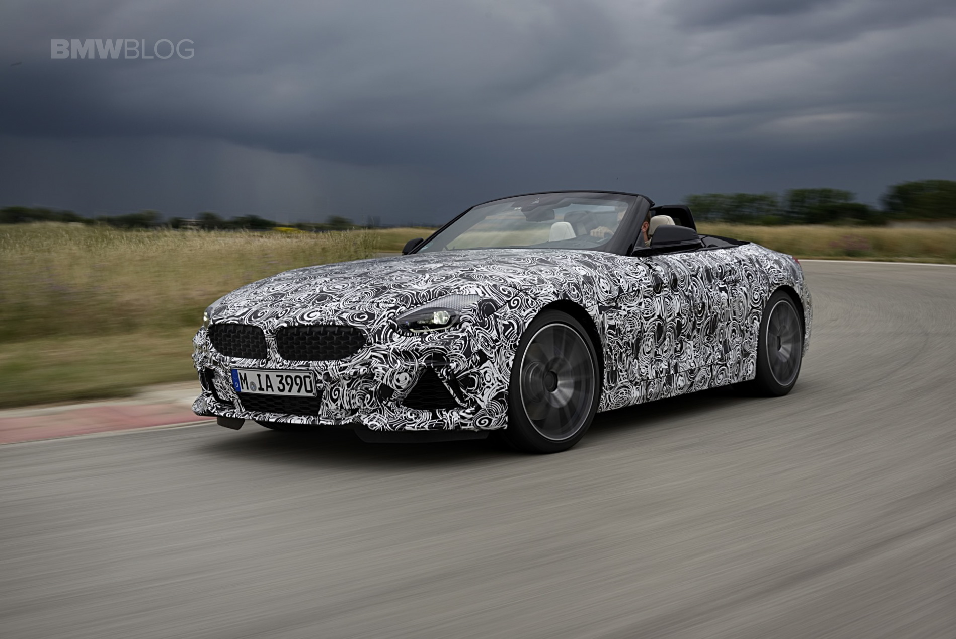 BMW G29 Z4 pre drive 11