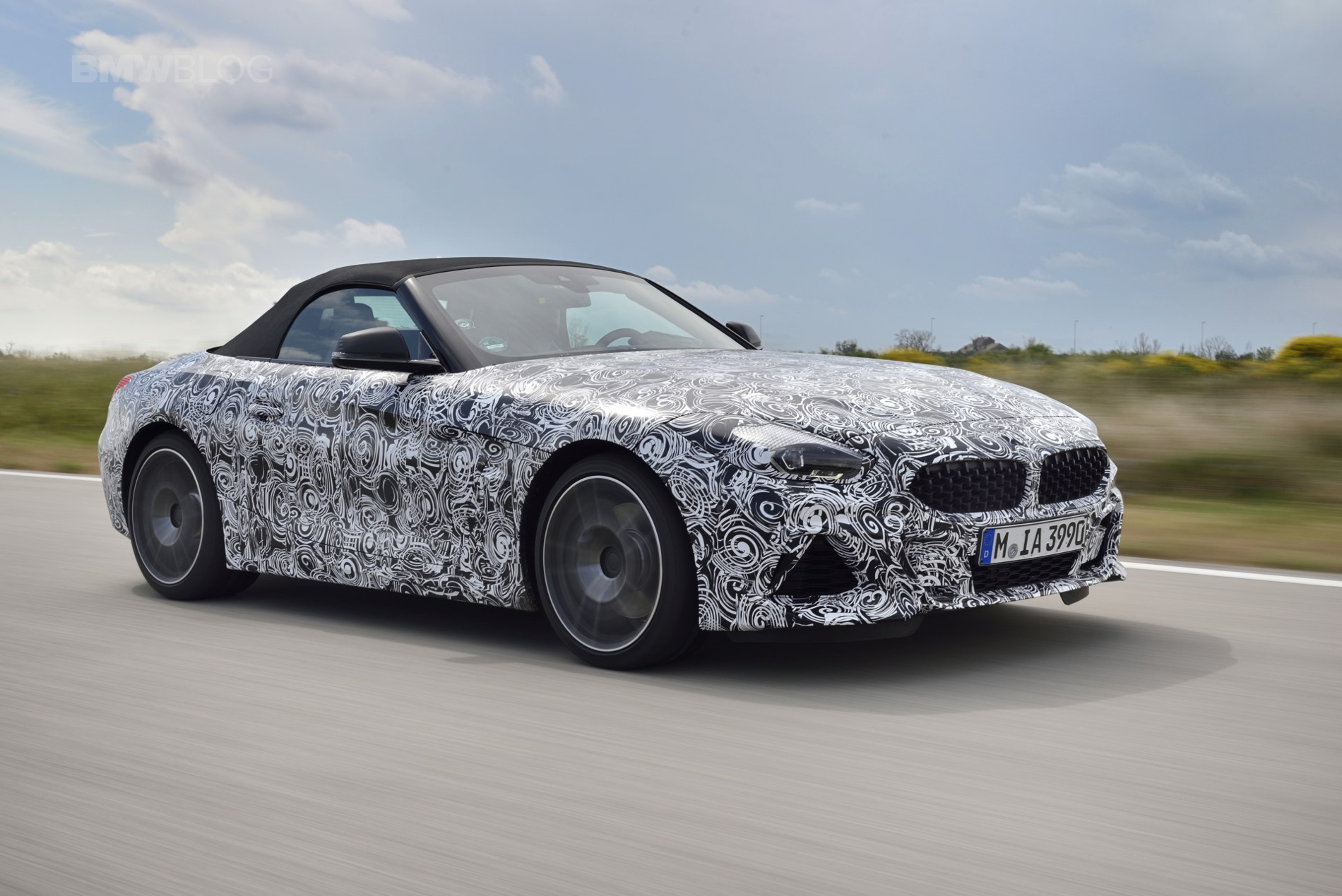 Video Check Out The 2019 Bmw Z4 Out On The Miramas Track