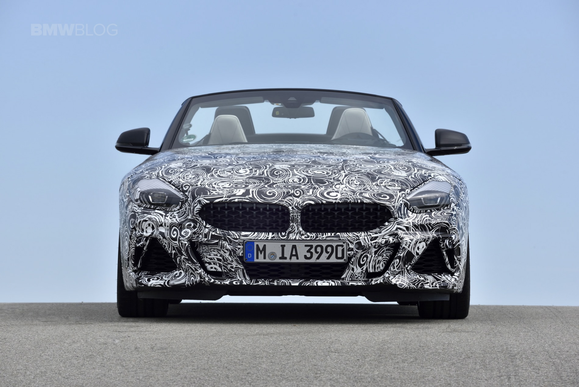 BMW G29 Z4 pre drive 42