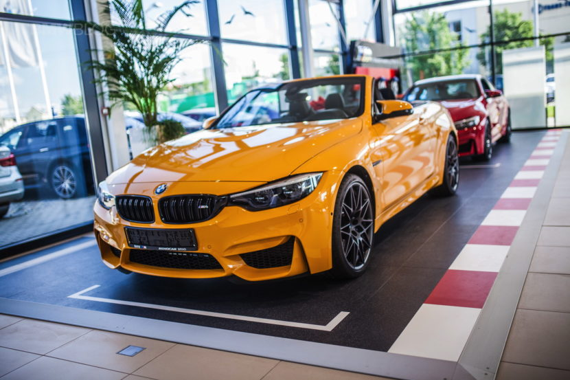 Macao Blue Vs Mandarin Ii Bmw M4 Convertible 30 Jahre Edition Is