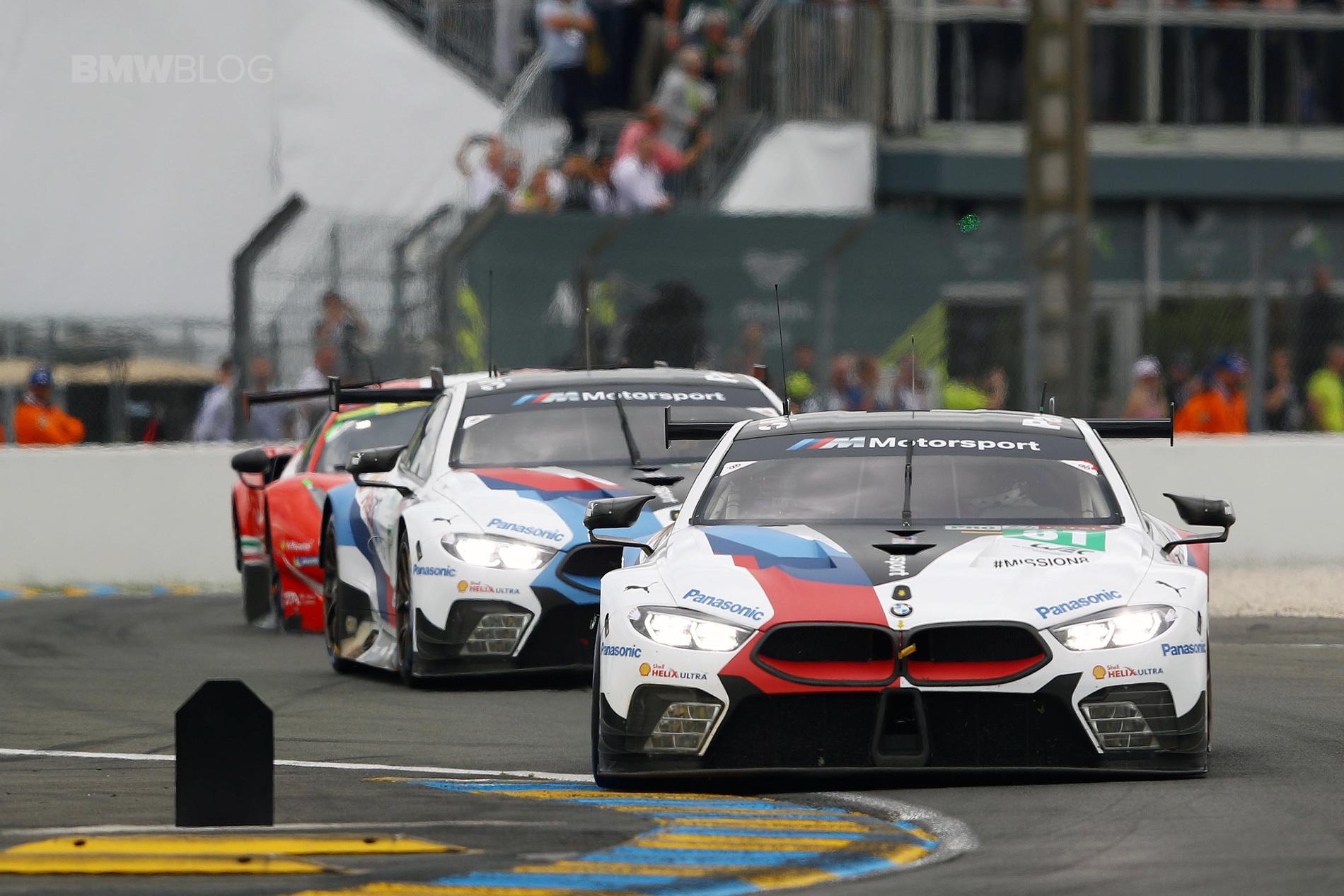BMW M8 GTE Le Mans results 01