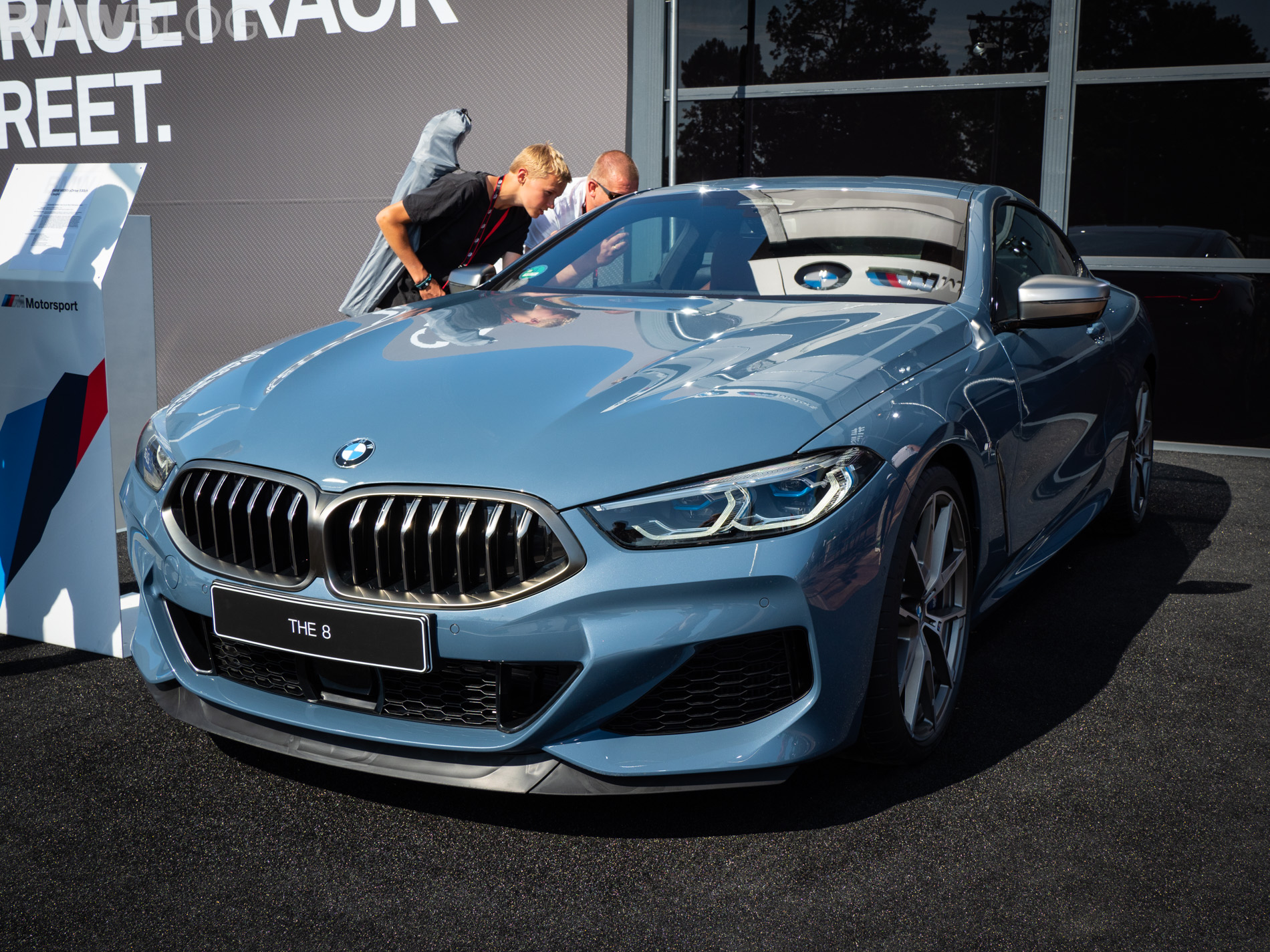 Bmw M850i In Barcelona Blue Live From Le Mans