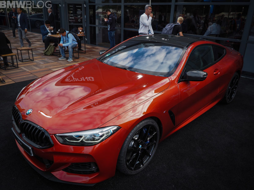 BMW M850i Sunset Orange 4 830x623