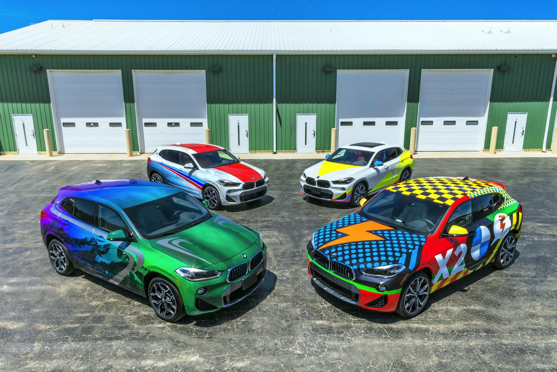 BMW X2 Car Wrap 01