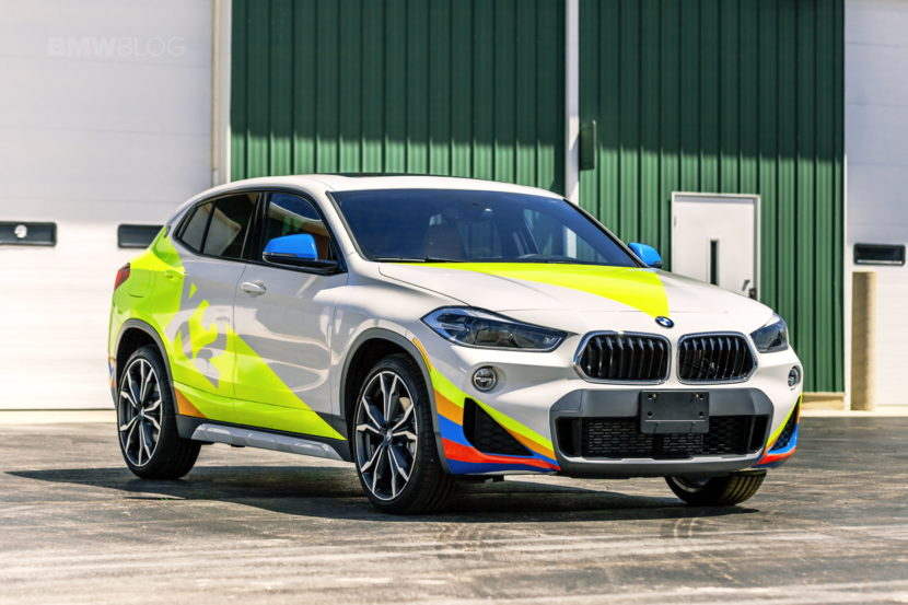 BMW X2 Car Wrap 03 830x553