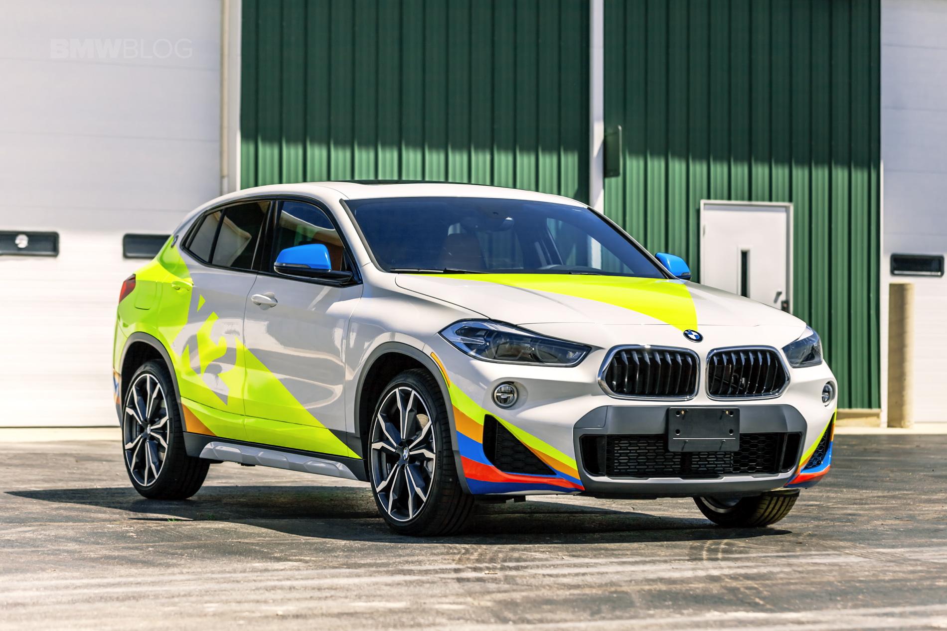 BMW X2 Car Wrap 03