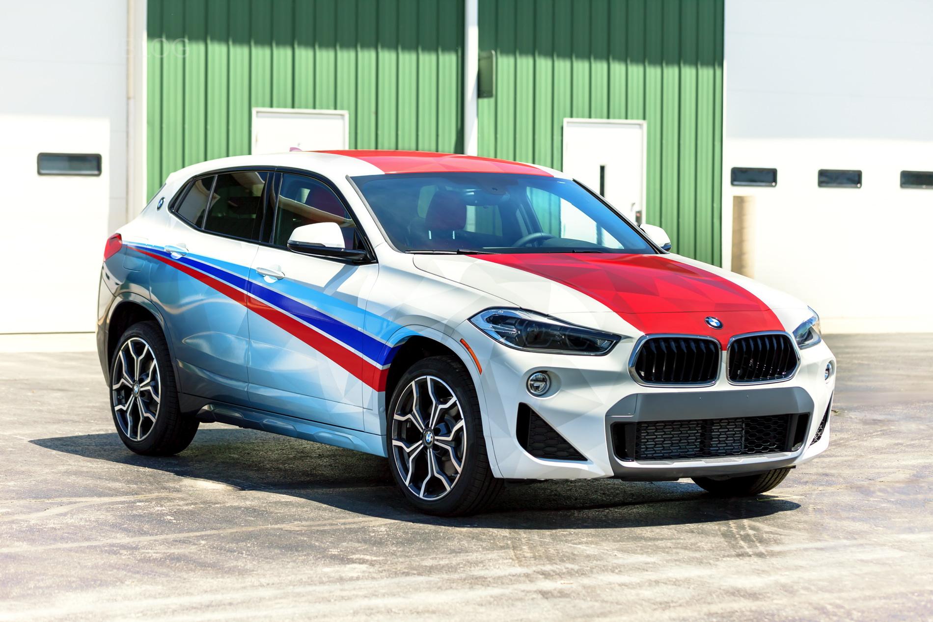 BMW X2 Car Wrap 26