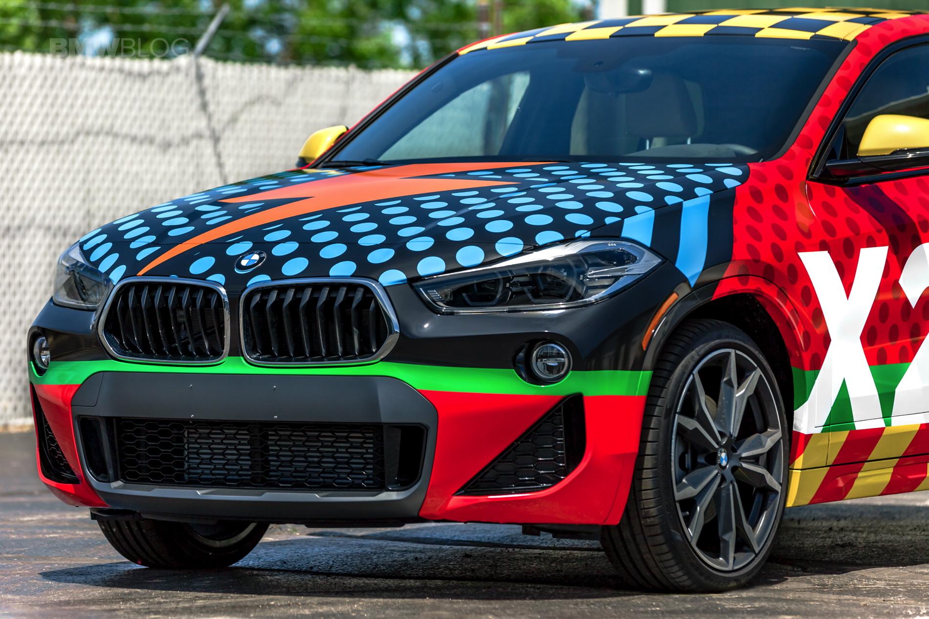BMW X2 Car Wrap 35