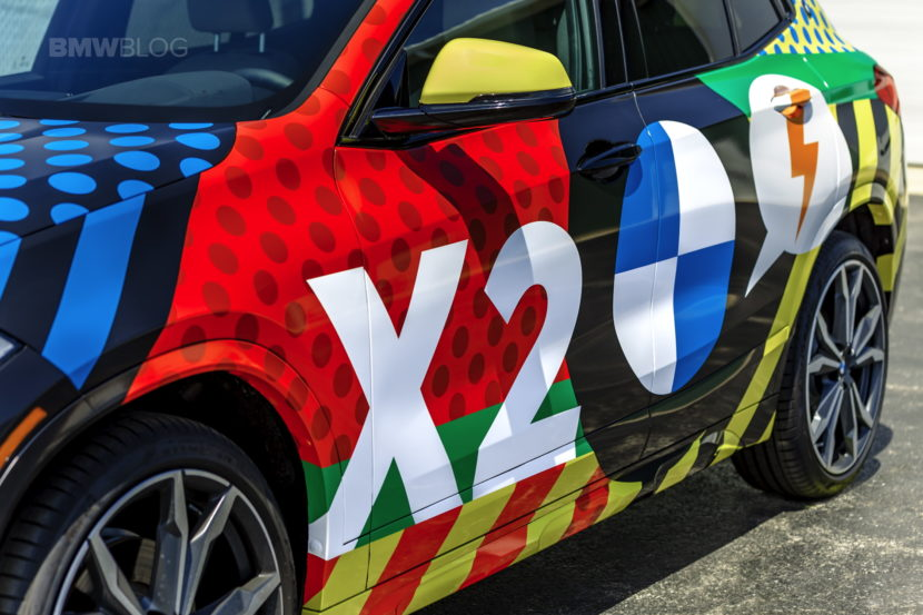 BMW X2 Car Wrap 43 830x553