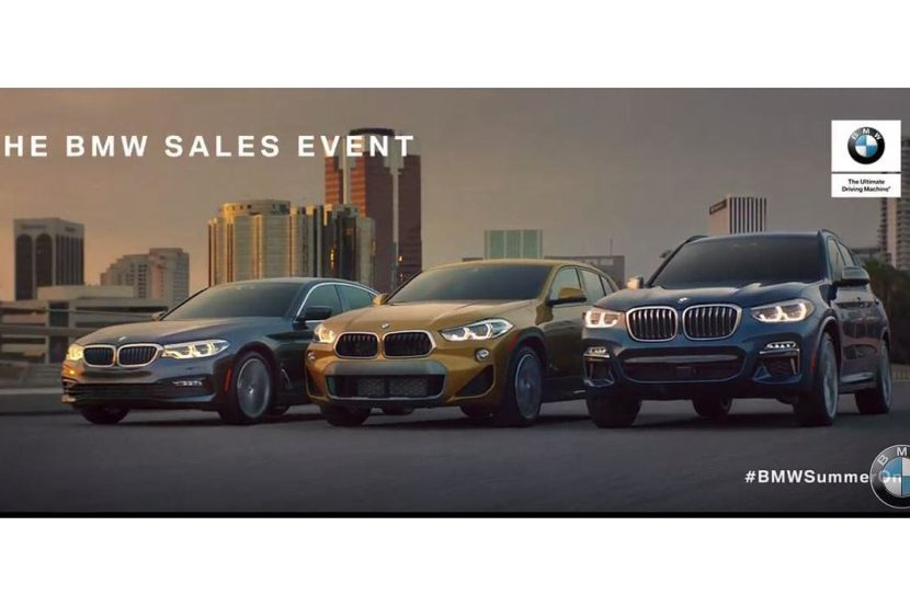 BMW sales event 830x553