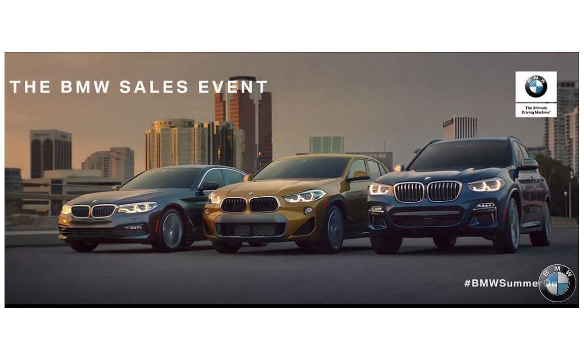 BMW sales event