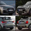 Bild Vergleich MINI Cooper S F55 Audi A1 Sportback 2018 01 120x120