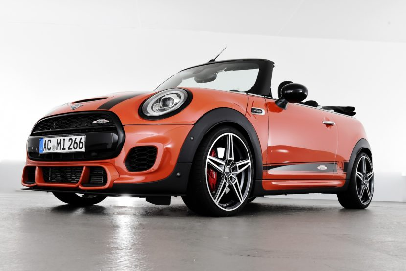 Ac Schnitzer Tuning Program For The New Mini Facelift Models