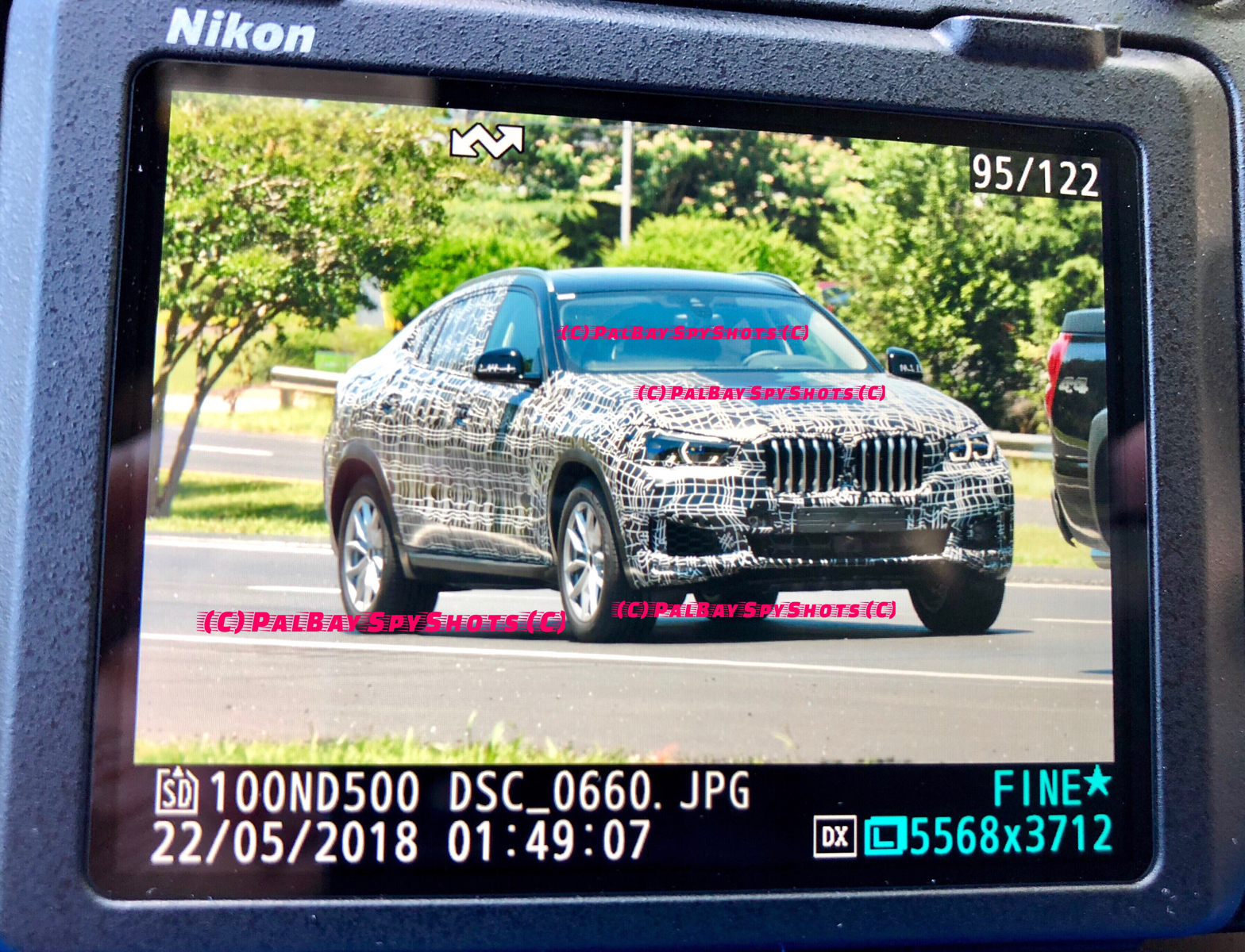 Upcoming G06 Bmw X6 Spotted For The First Time