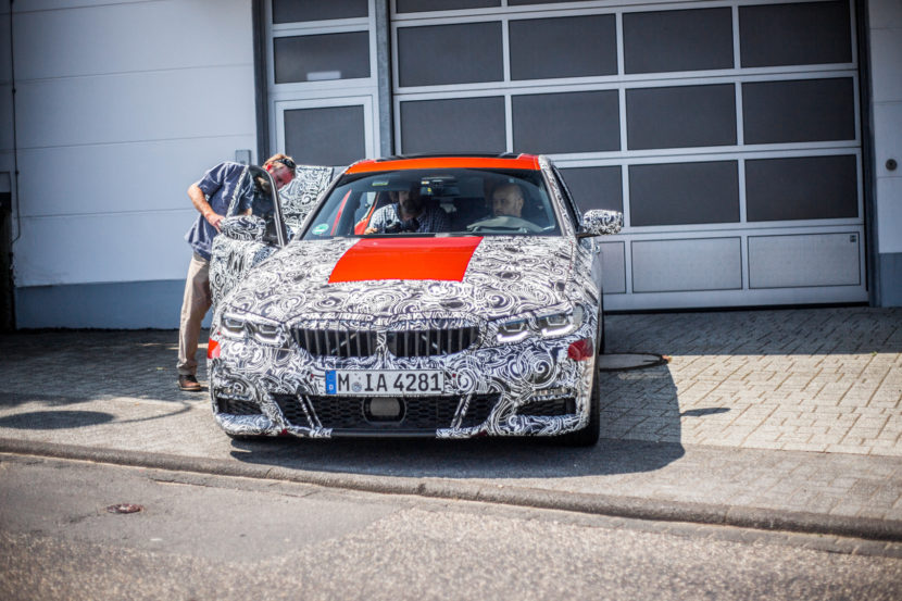 G20 BMW 3 Series Spy Photos 4 830x553
