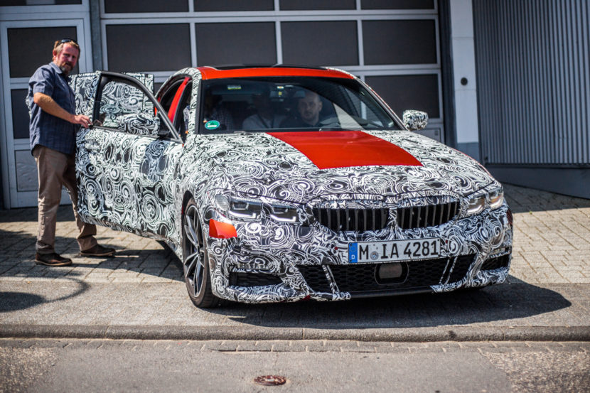 G20 BMW 3 Series Spy Photos 5 830x553