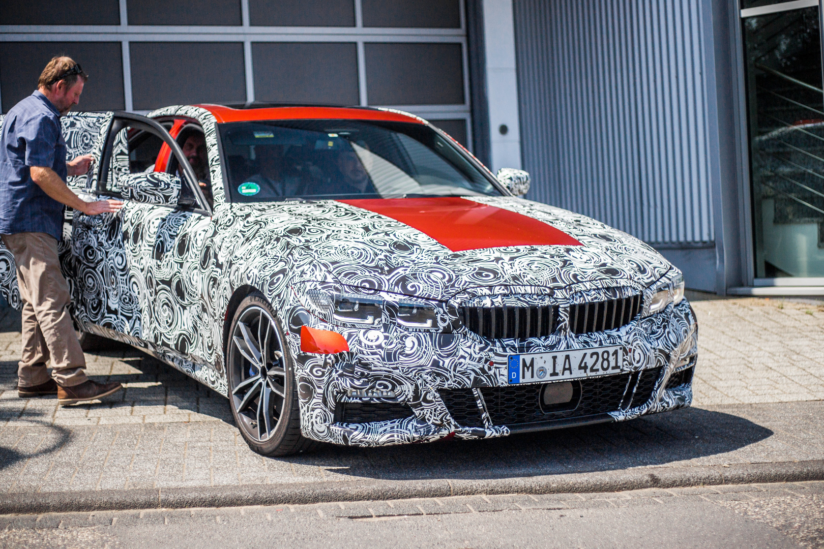 Spied G20 Bmw 3 Series Caught Testing Outside Nurburgring