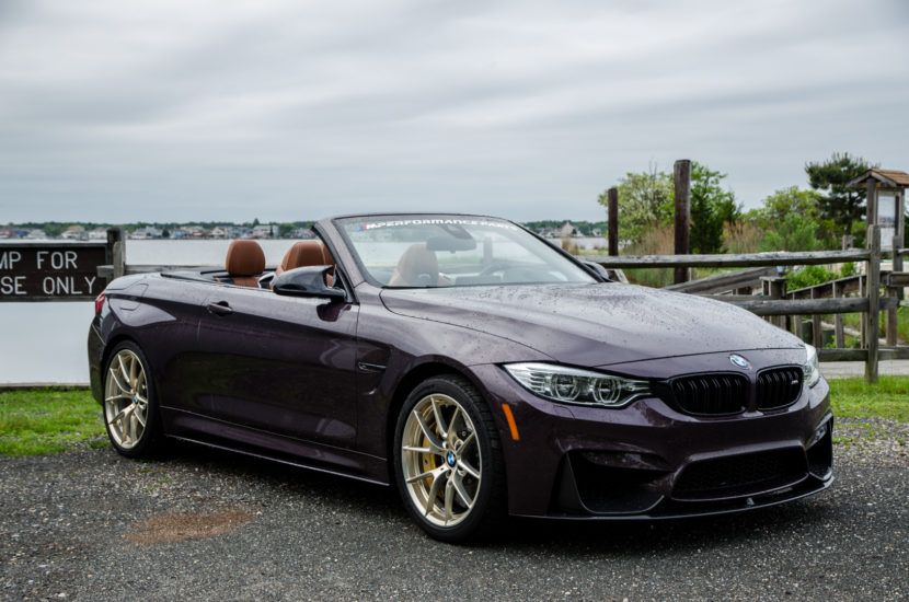 M Perforamnce BMW M4 Convertible 2 830x550