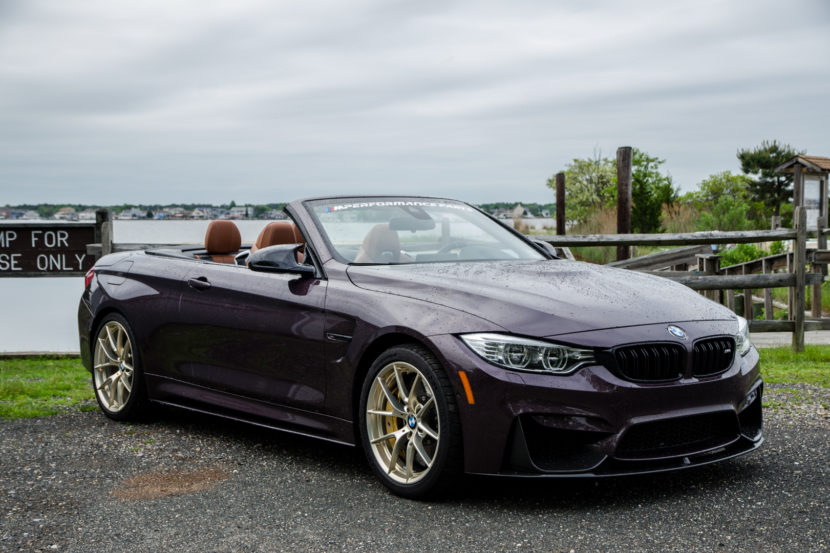M Perforamnce BMW M4 Convertible 2 830x553