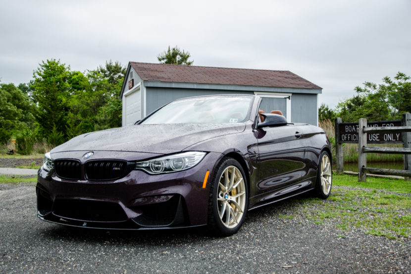 M Perforamnce BMW M4 Convertible 830x553