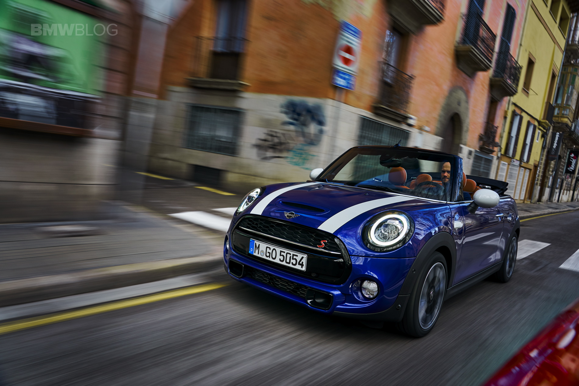 MINI Cooper S Convertible test drive 155