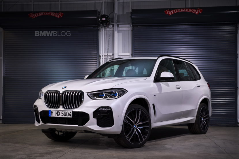 New BMW X5 real life images 01 830x553