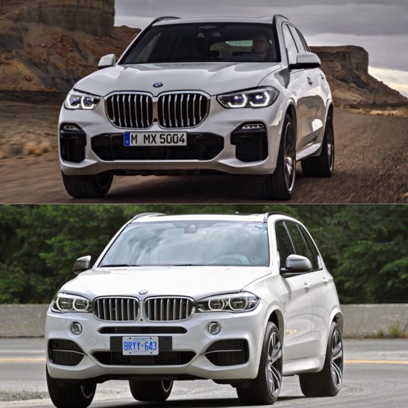 New BMW X5 vs old X5 4 830x830