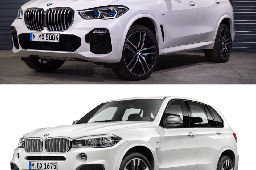 New BMW X5 vs old X5 6 830x553