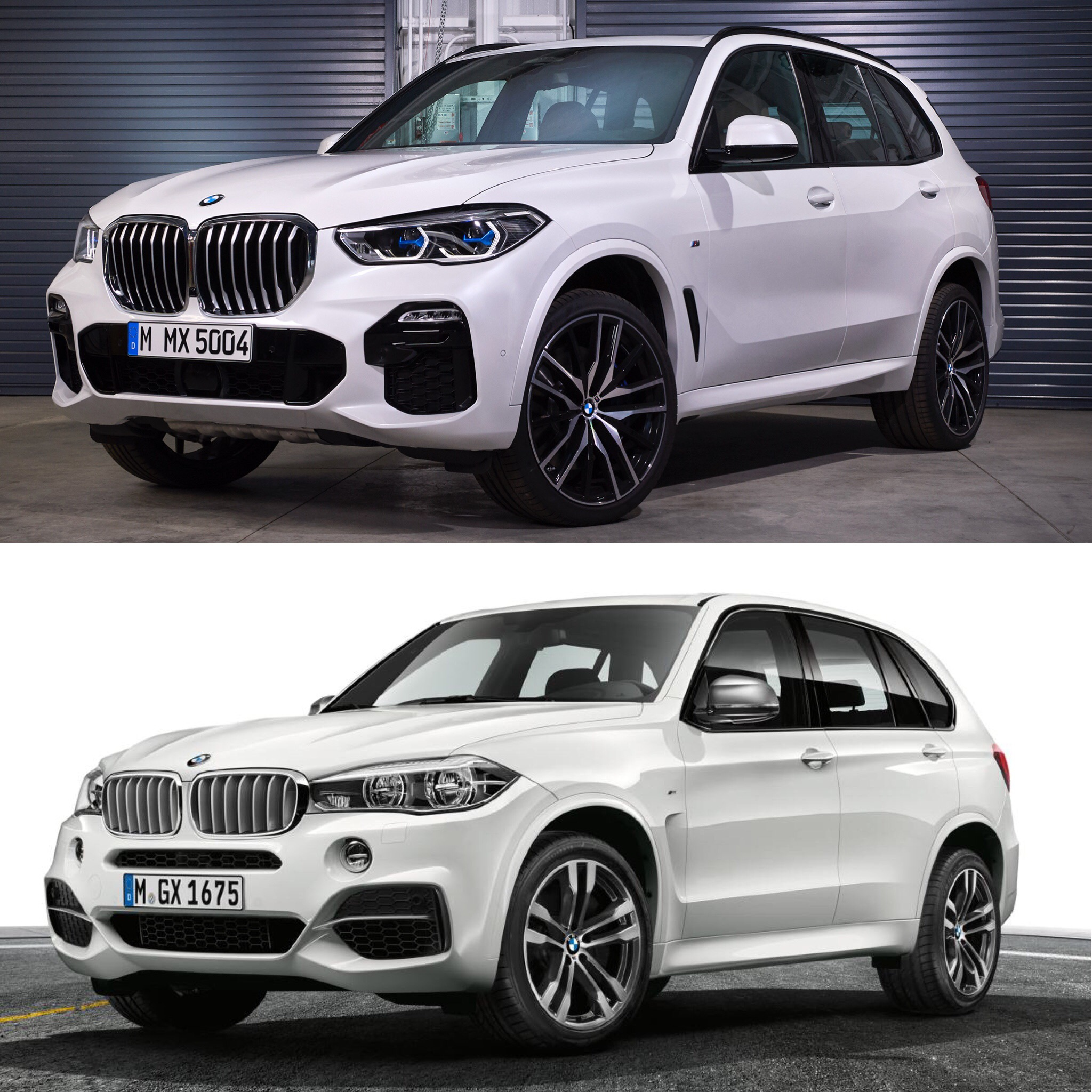 New BMW X5 vs old X5 6