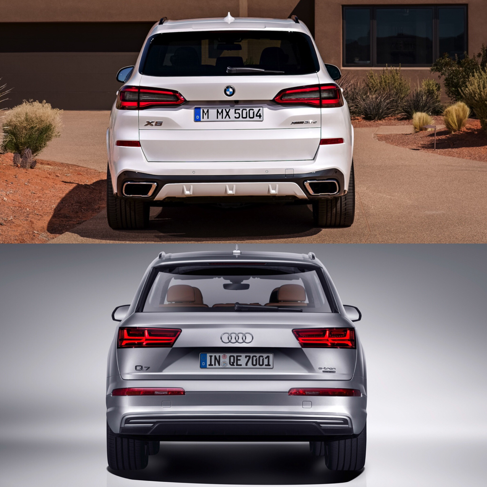 Bmw Xs5: Photo Comparison: G05 BMW X5 Vs Audi Q7
