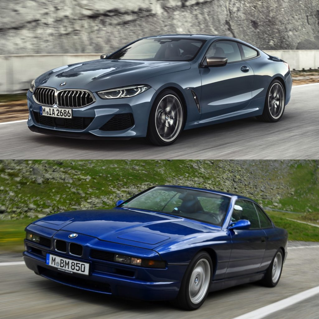 Photo Comparison Old Bmw 8 Series Vs New Bmw 8 Series