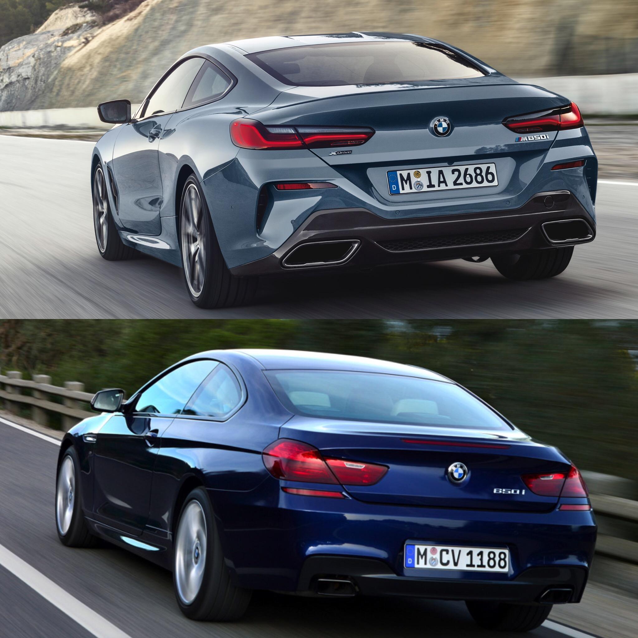 4 Series Vs 6 Series Concept: Photo Comparison: BMW 8 Series Vs BMW 6 Series