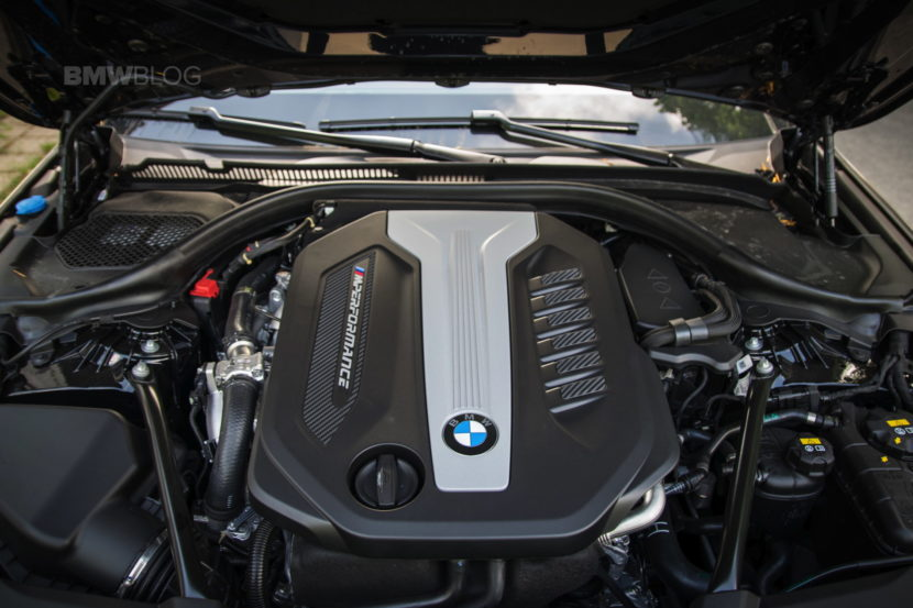 2018 BMW M550d sedan test drive 23 830x553