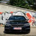 2018 BMW M550d sedan test drive 31 120x120