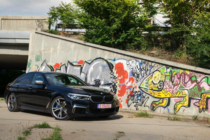 2018 BMW M550d sedan test drive 34 830x553