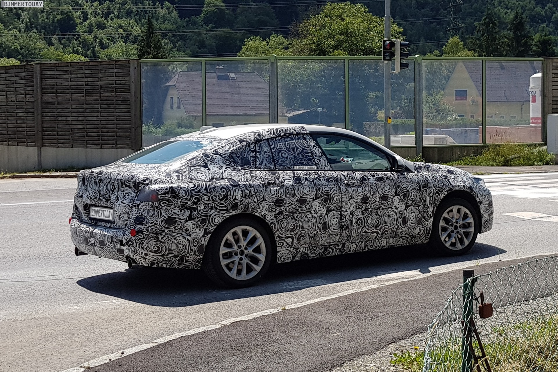 Bmw 2 Series Gran Coupe Spy Photos Of The Compact Four Door Coupe Bmw Blog Howldb