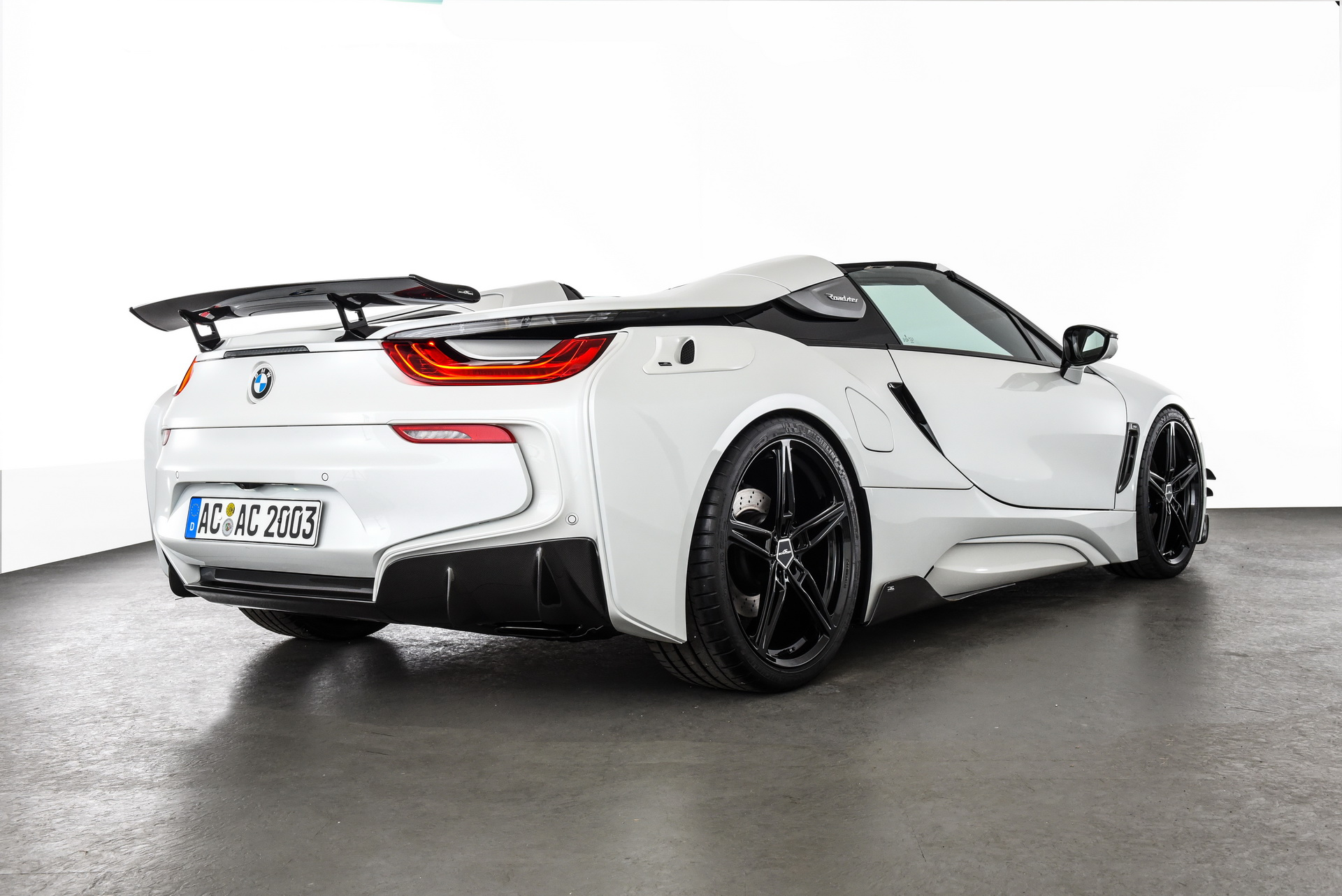 Photo Gallery Ac Schnitzer Mods Bmw I8 Roadster With Aggressive Kit