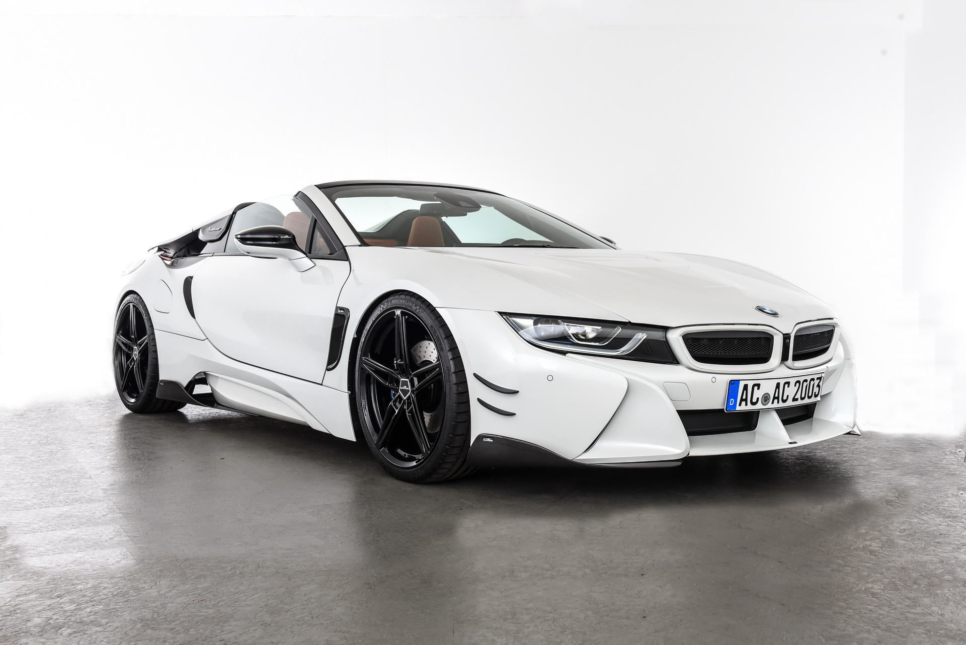 Video Bmw I8 Roadster By Ac Schnitzer Has Black And White Theme I New Cars
