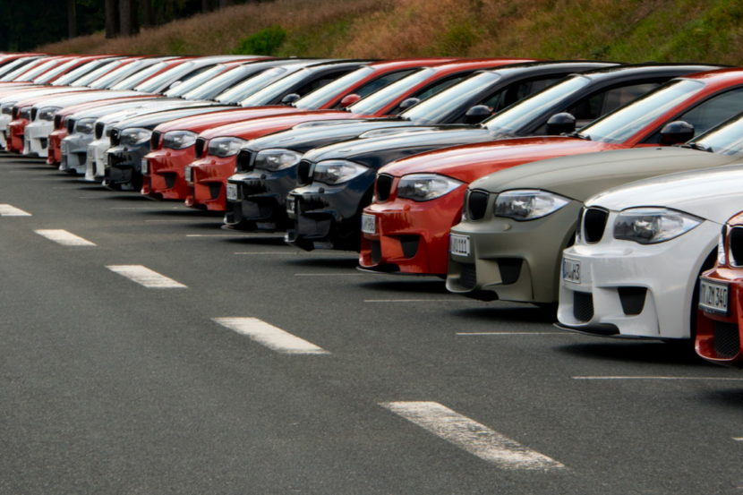 Nearly 50 BMW 1Ms got together for a picnic