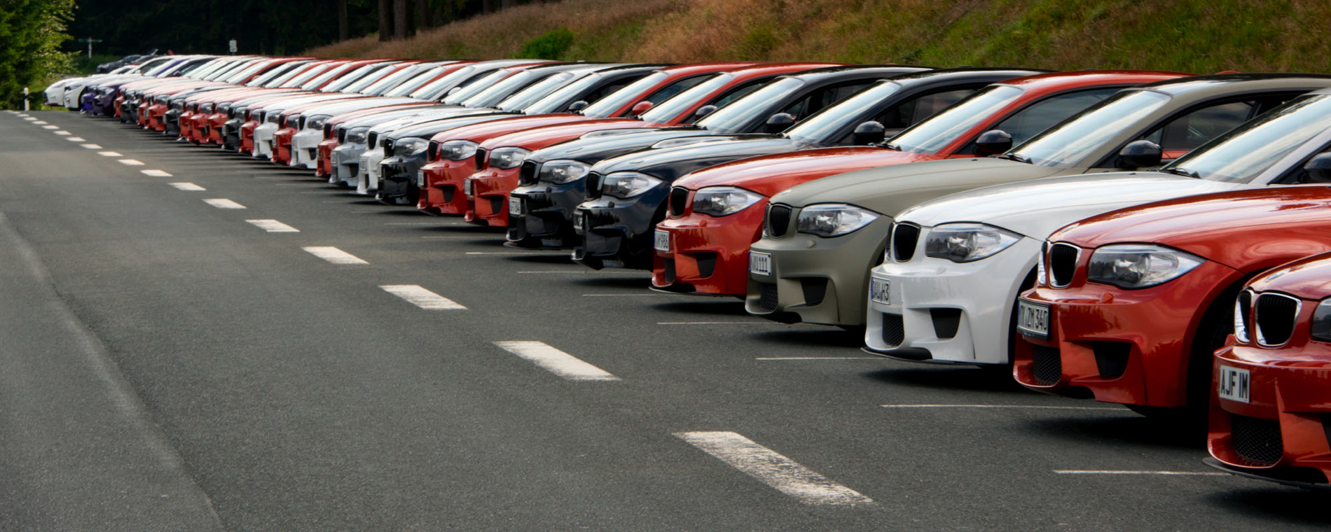 BMW 1M meet up 17